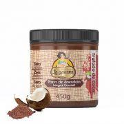 Pasta de Amendoim Integral Gourmet Trufado de Coco 450g La Ganexa