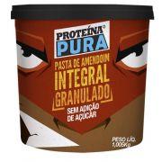 Pasta de Amendoim Integral Granulado 1,005kg Netto Alimentos