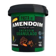Pasta de Amendoim Integral c/ Amendoim Granulado 450g Mandubim