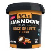 Pasta de Amendoim Integral c/ Doce de Leite e Coco 450g Mandubim