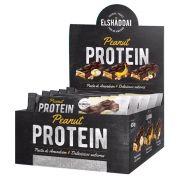 Peanut Protein Bar cx/ com 12 unid de 50g  El Shaddai