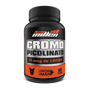 Picolinato de Cromo 100 caps New Millen