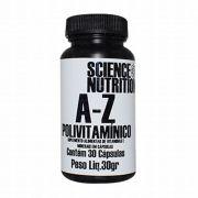 Polivitamínico A-Z 30 caps Science Nutrition