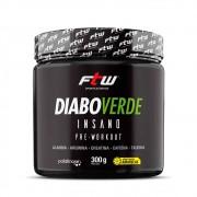 Pré Treino Diabo Verde Insano 300g FTW Sports Nutrition