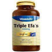 Triple Efa's 1000mg Ômega 3-6-9 120 caps Vitaminlife