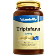 Triptofano 500mg  60Caps Vitaminlife