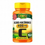 Vitamina C 400mg 60 caps Unilife