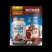 Whey Grego Cheesecake Chocolate sachê 40g Nutrata