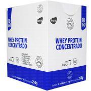Whey Protein Concentrado To Go 10 sachês de 25g Like Fit