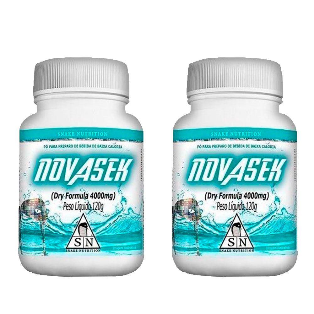 2 Novasek 120g Snake Nutrition