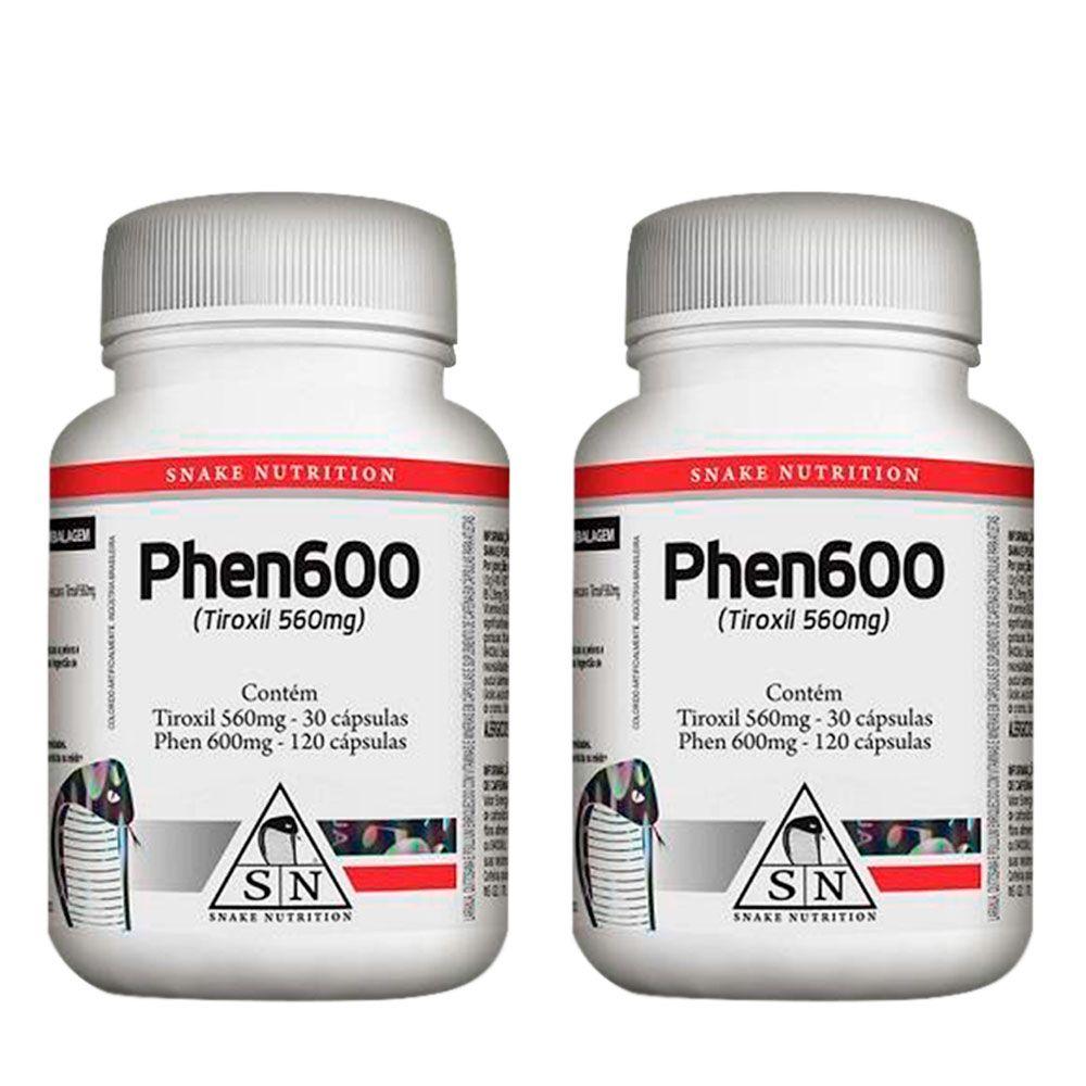 2 Phen600 150caps Snake Nutrition