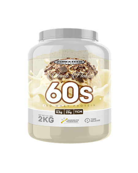 60s Iso Whey Protein 2kg Forcetech Labs