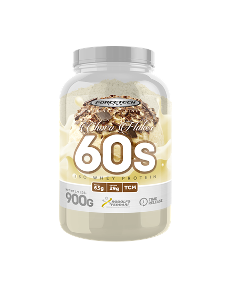 60s Iso Whey Protein 900g Forcetech Labs