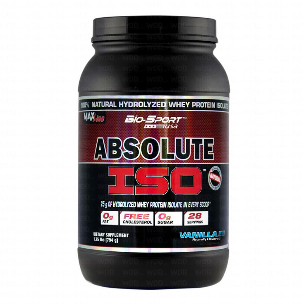 Absolute Iso Whey 900g Bio Sport
