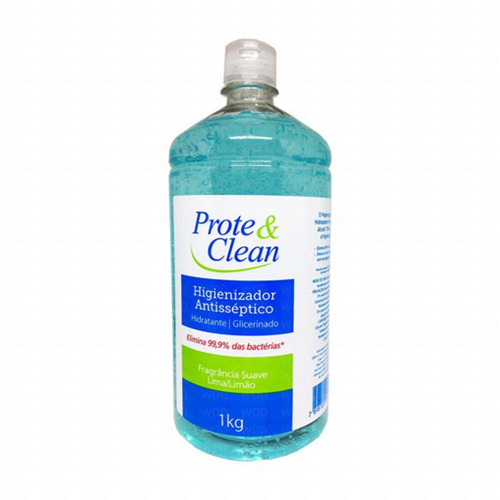 Álcool em Gel Higienizador Antisséptico 1Kg Prote & Clean