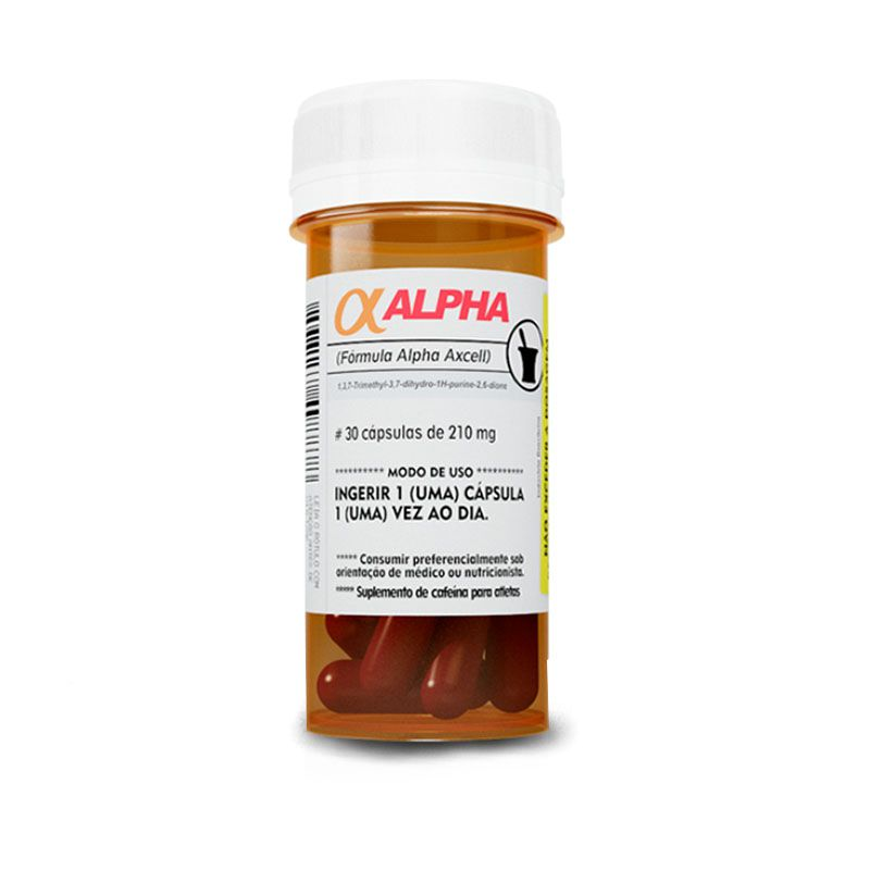 Alpha Axcell 30 caps Power Supplements