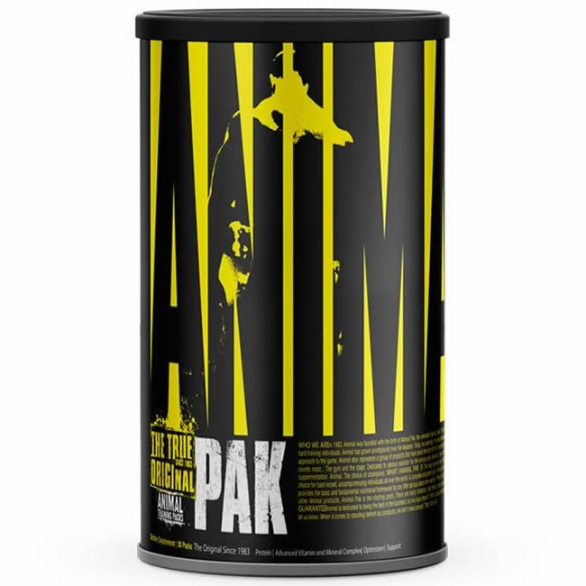 a5f6b99ec Animal Pak 30 packs Universal