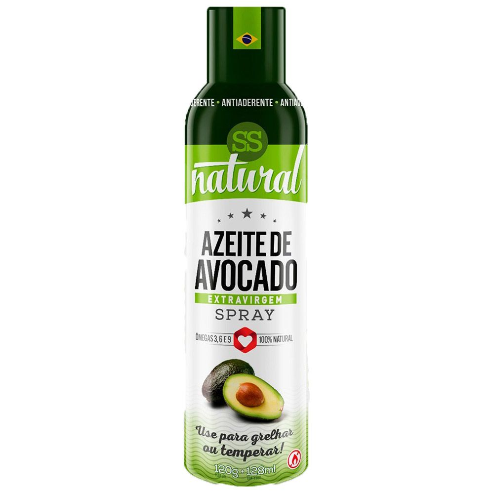 Azeite de Avocado Extra Virgem Spray 128ml SS Natural