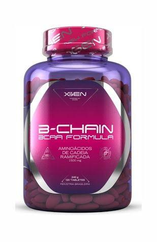 B-Chain BCAA Formula 120 tabs 240 g XGen