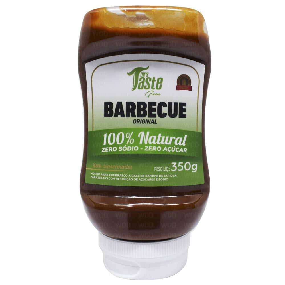 Barbecue Original 100% Natural 350g Mrs Taste