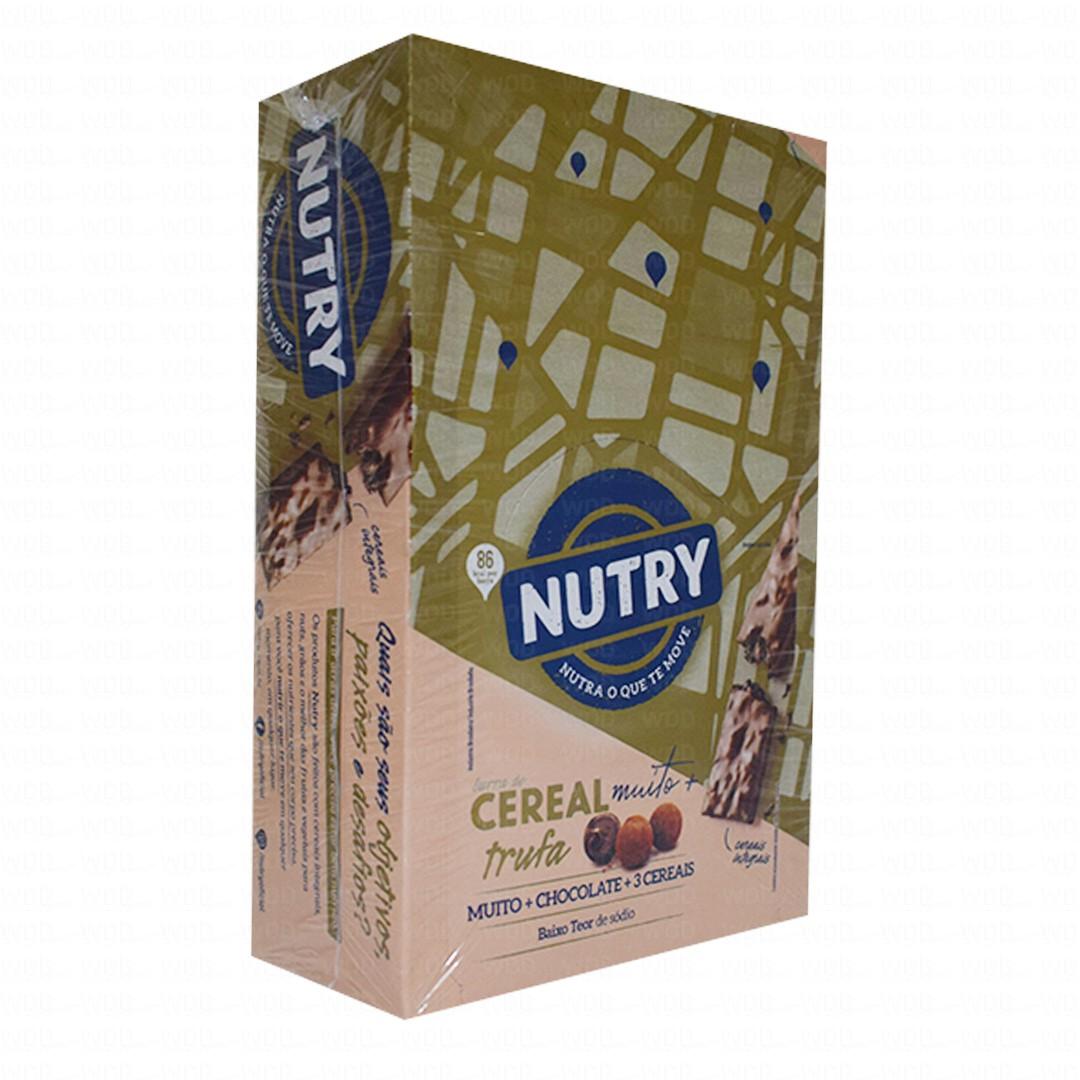 Barra de Cereal Cx c/ 24 un de 22g Nutry