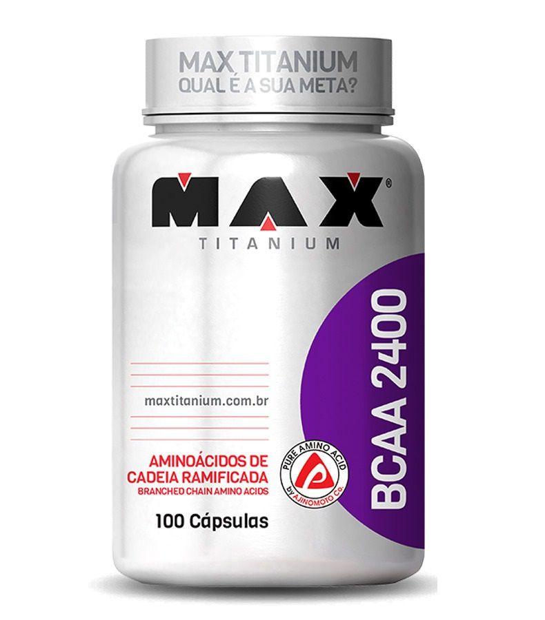 BCAA 2400 100 caps Max Titanium