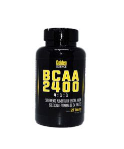 BCAA 2400 4:1:1 120tabs Golden Science