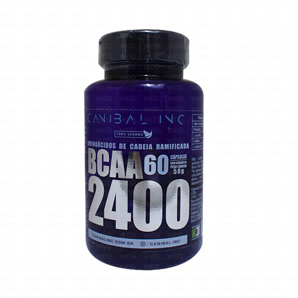 BCAA 2400 60 caps Canibal Inc
