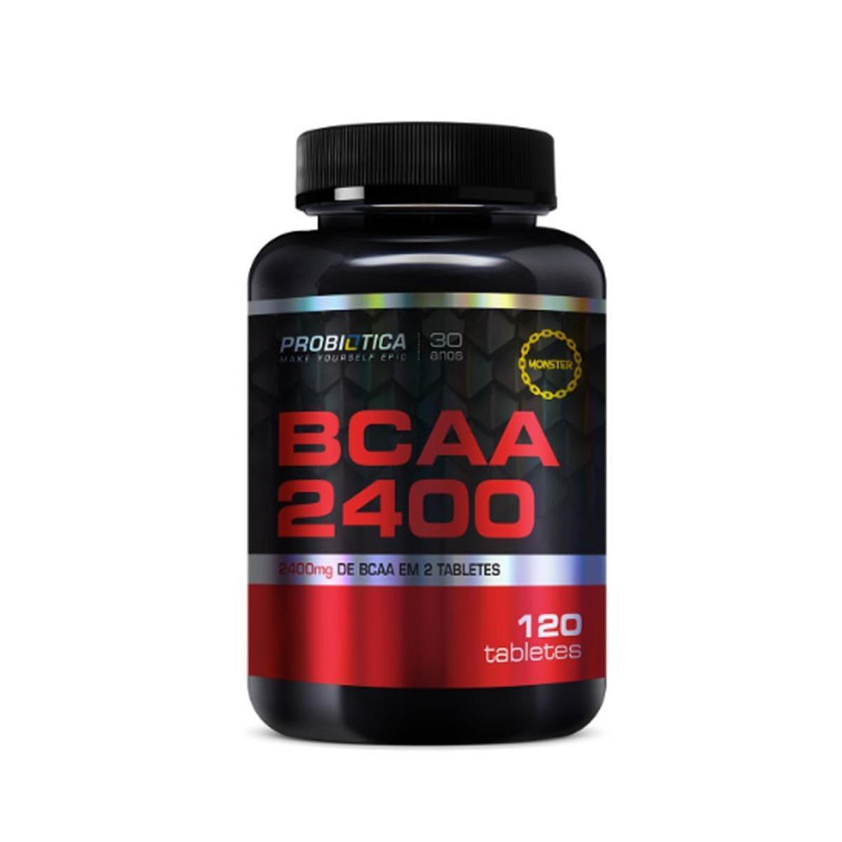 BCAA 2400mg 120 tabs Probiótica