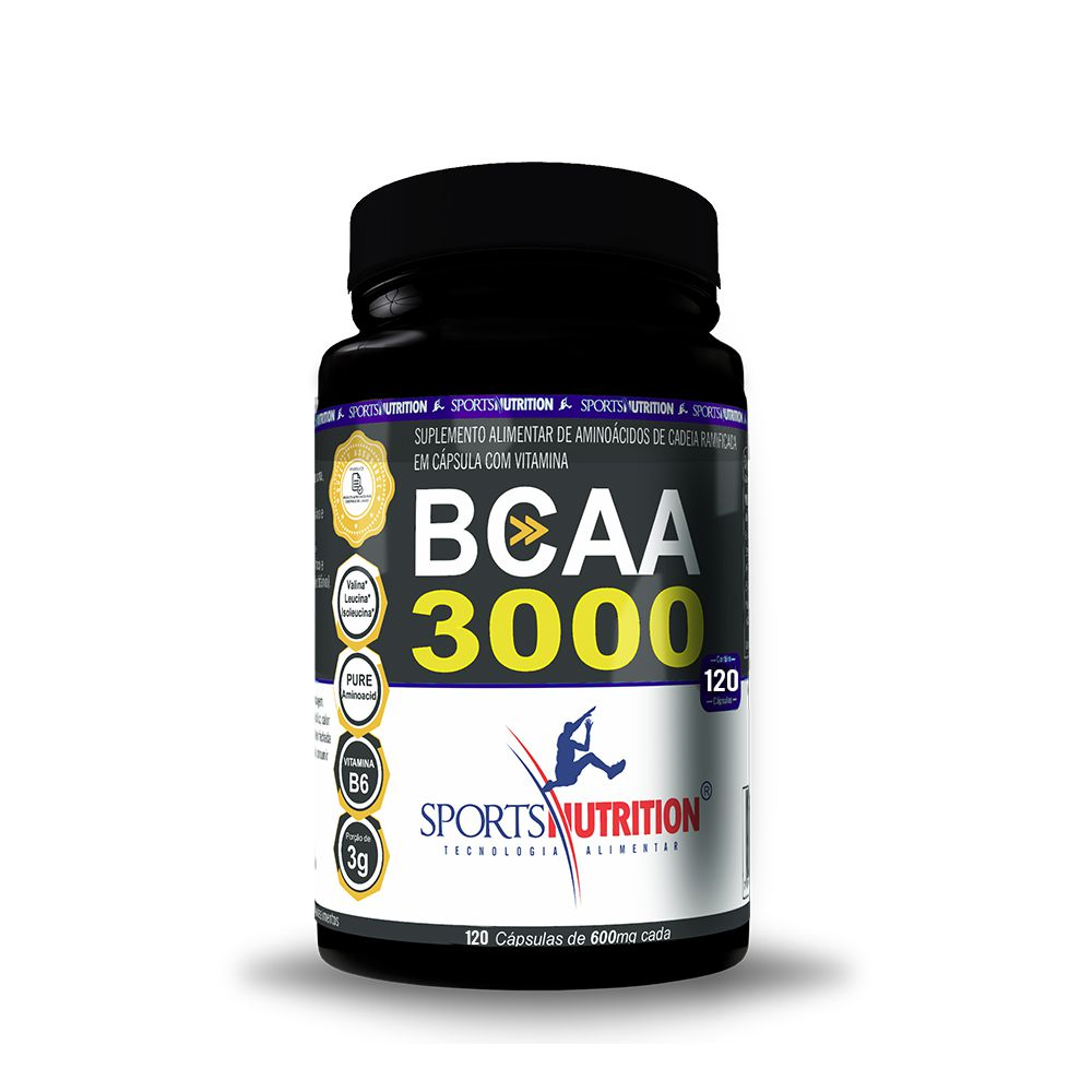 BCAA 3000 120 caps Sports Nutrition