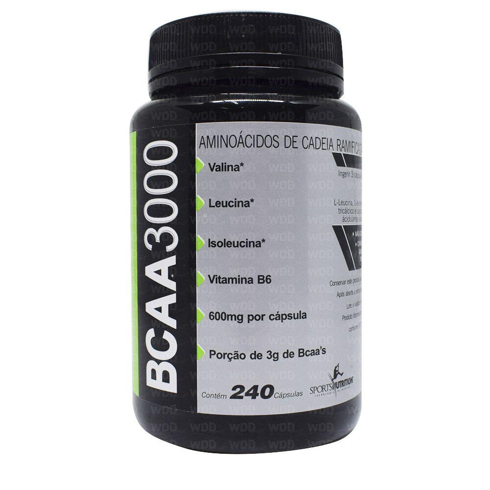 BCAA 3000 240 caps Sports Nutrition