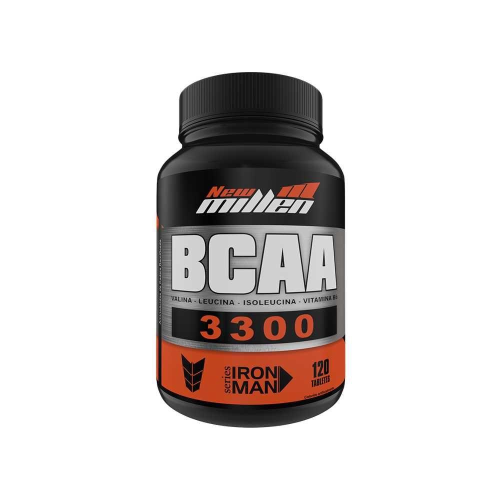 BCAA 3300mg 120 tabs New Millen