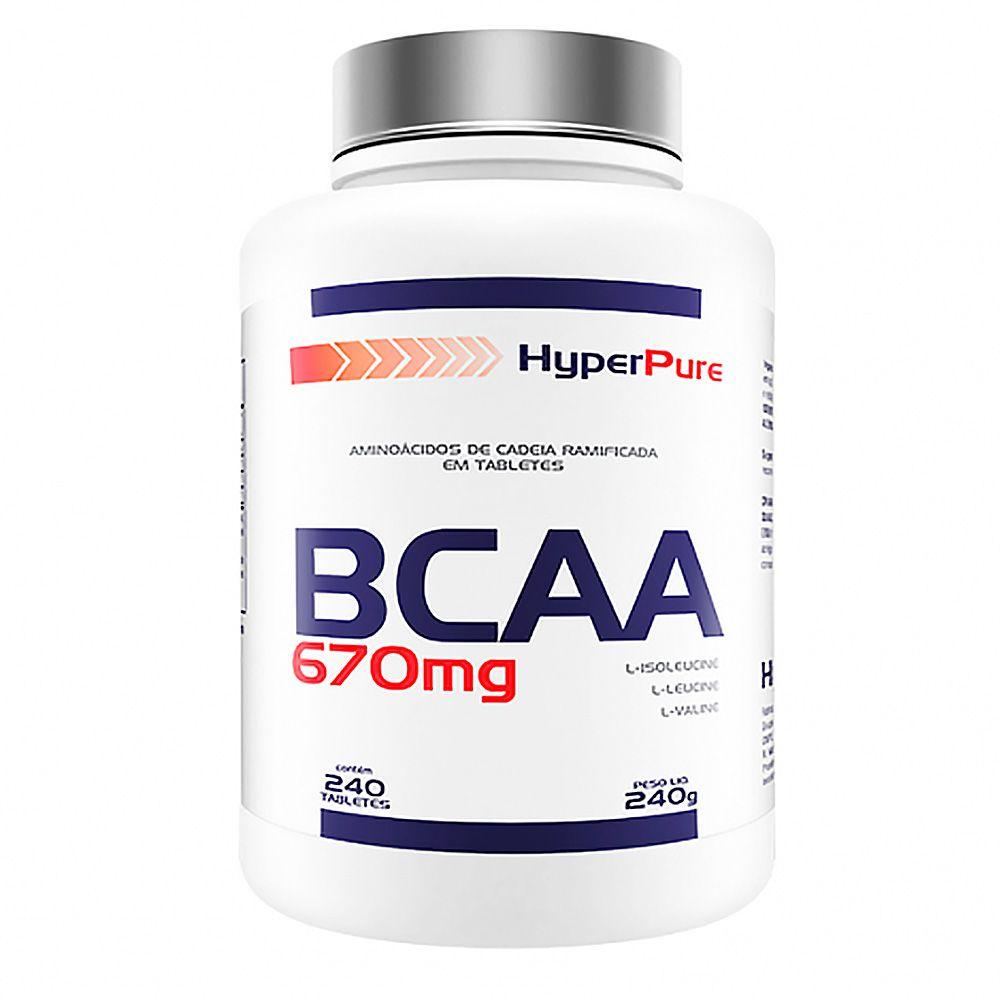 BCAA  670mg 240caps  HyperPure