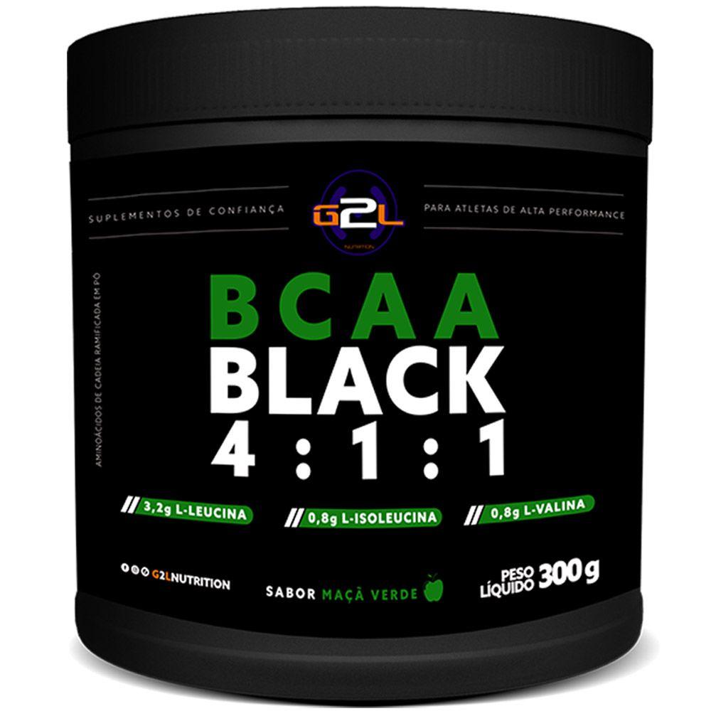BCAA Black 4:1:1 300g G2L Nutrition