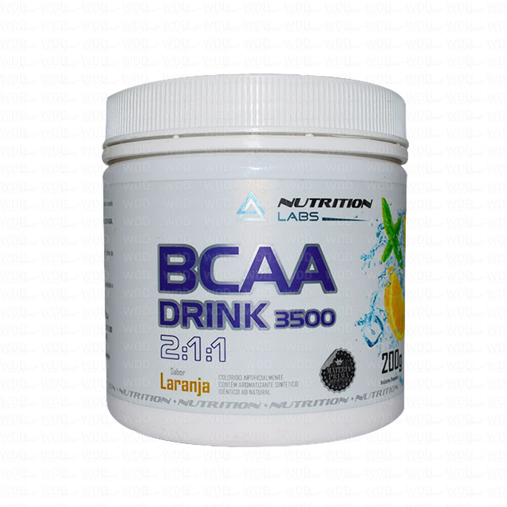 BCAA Drink 3500 2:1:1 200g Nutrition Labs