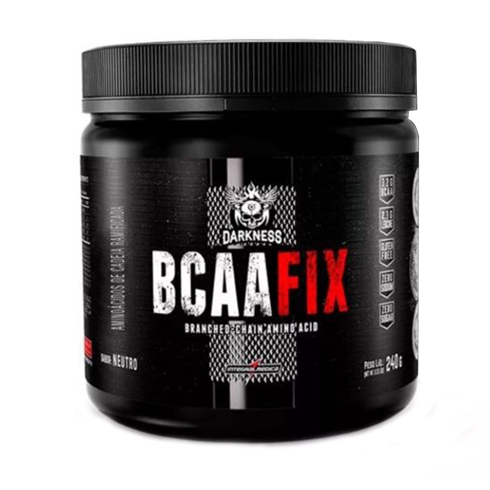 BCAA Fix Darkness 240g Integralmedica