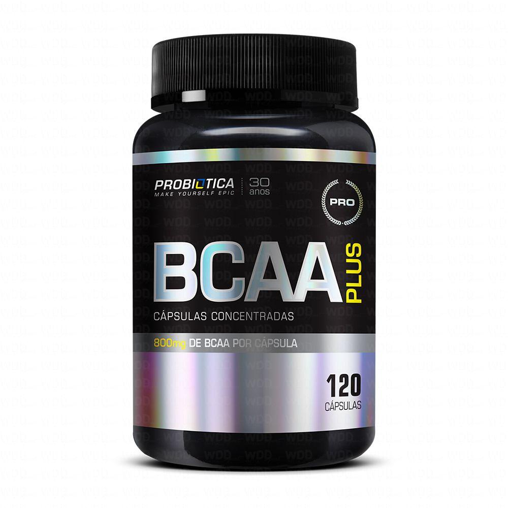BCAA Plus 120 caps Probiótica