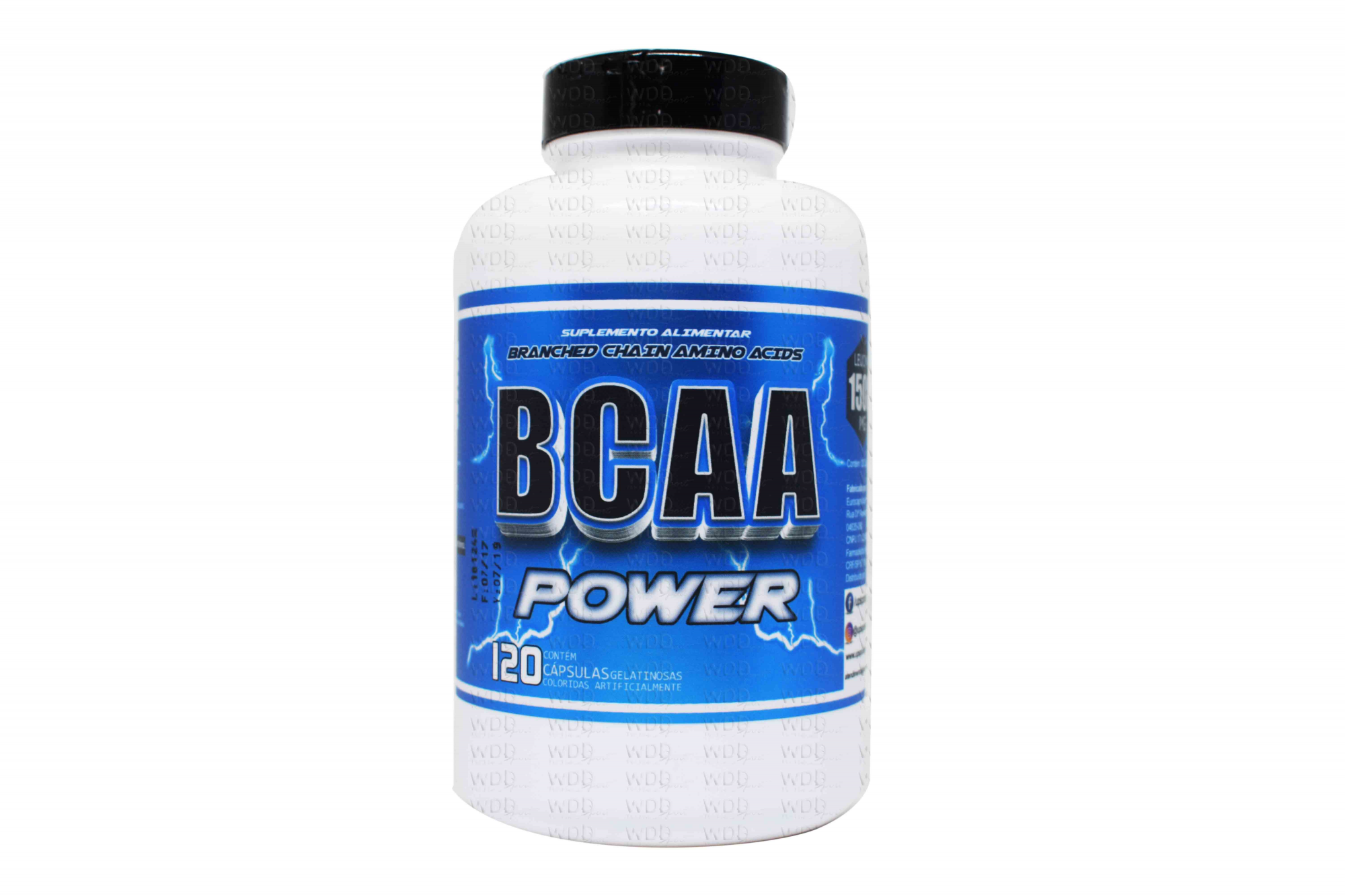 BCAA Power 120 caps Up Sports Nutrition