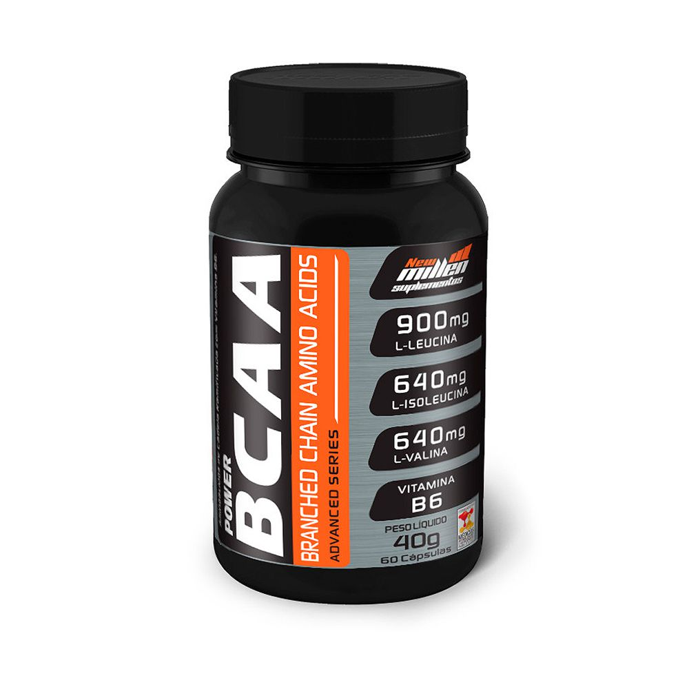 BCAA Power 60 caps New Millen