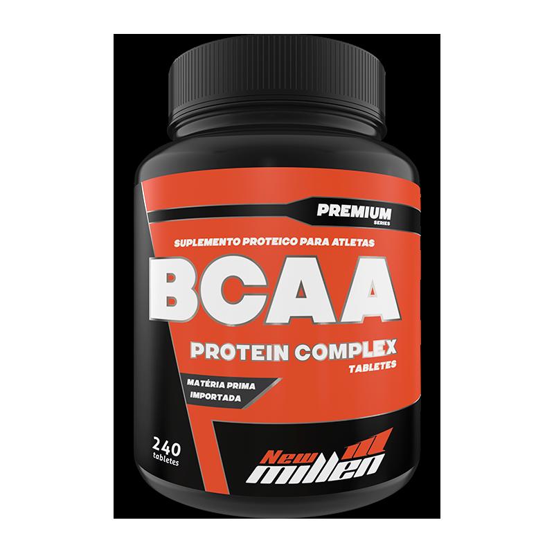 Bcaa Protein Complex 240 caps New Millen