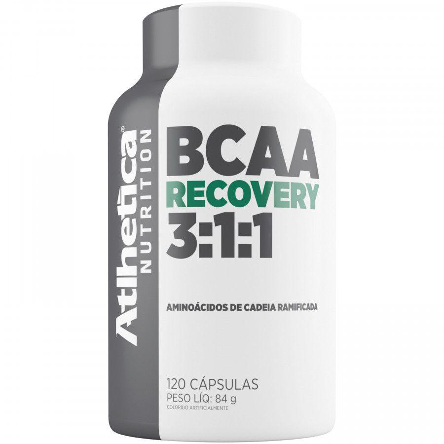 BCAA Recovery 3:1:1 120 caps Atlhetica