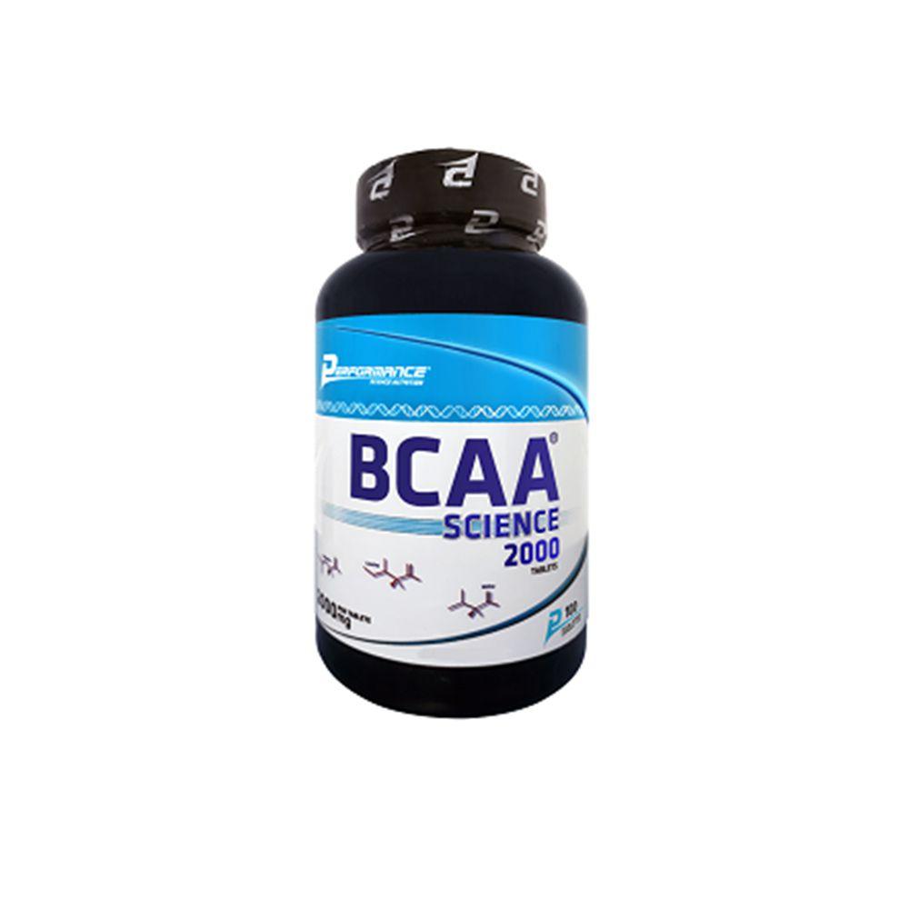 BCAA Science 2000 100 tabs Performance