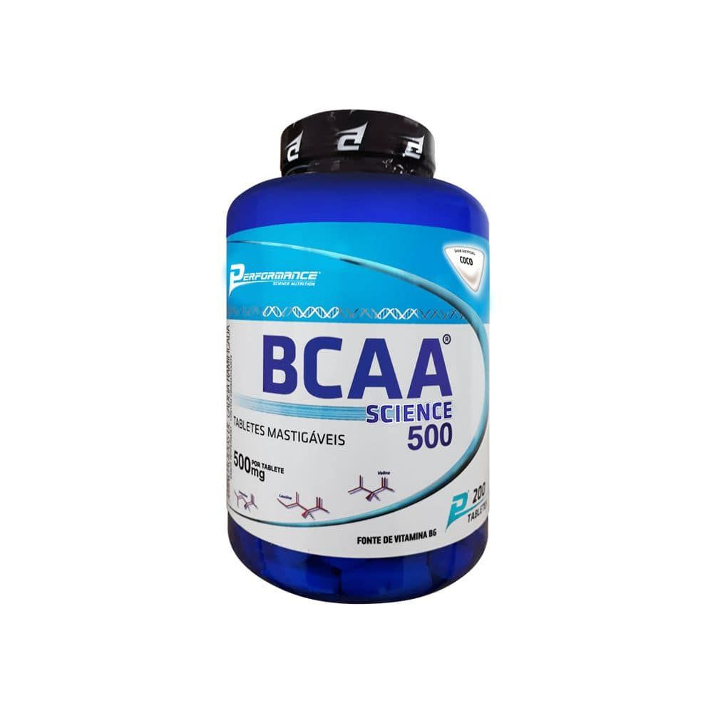 BCAA Science 500 200 tabs Performance