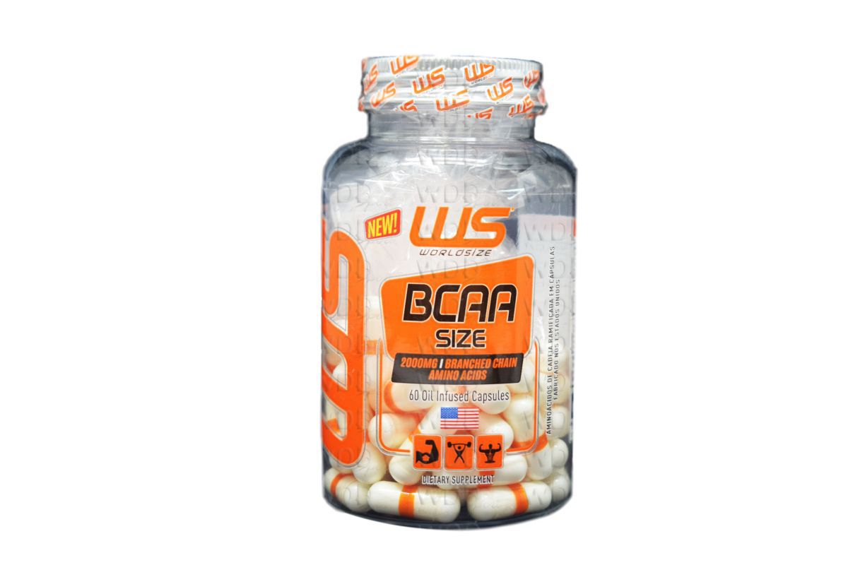 BCAA Size 60 caps WorldSize
