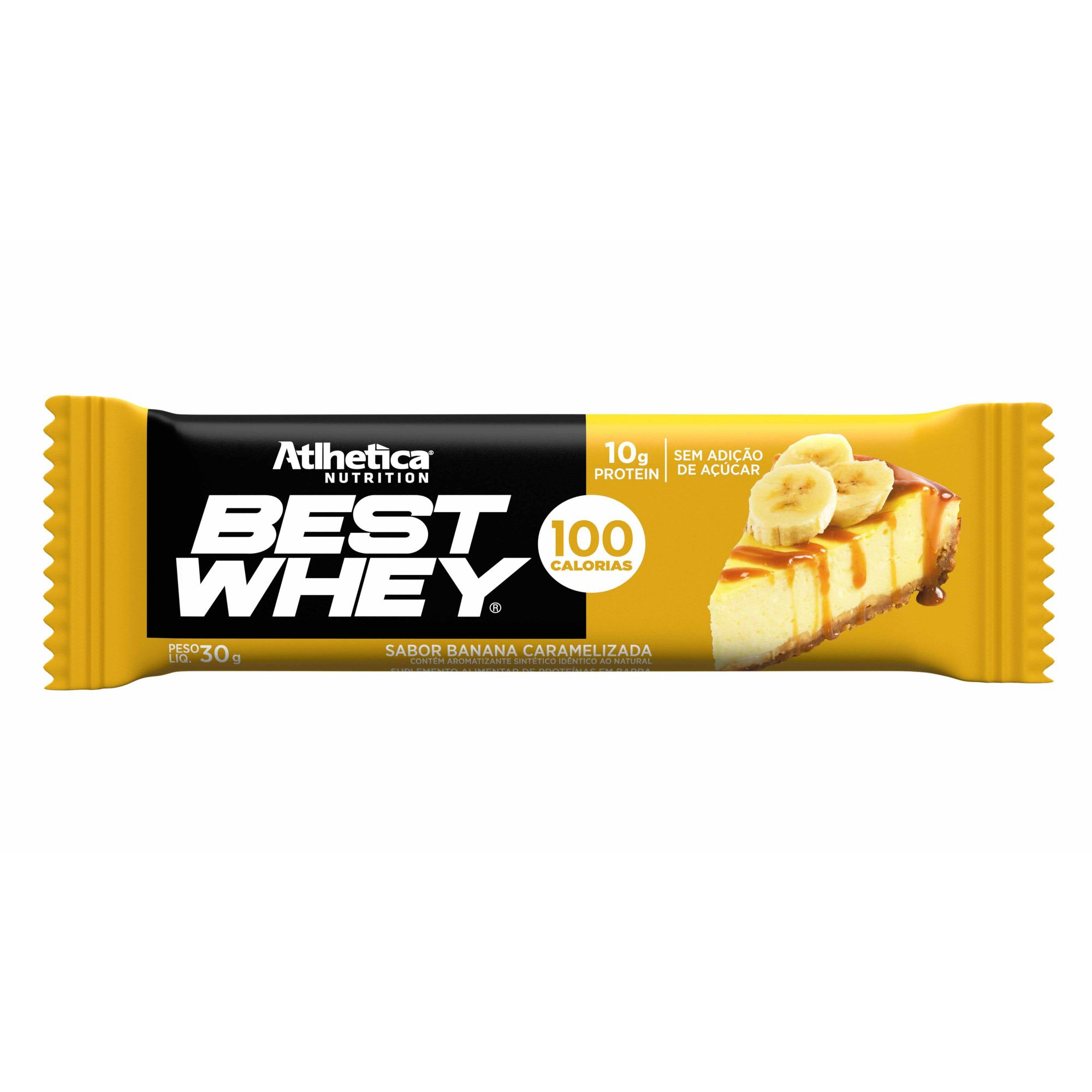 Best Whey Bar Banana Caramelizada  1 un de 30g Atlhetica