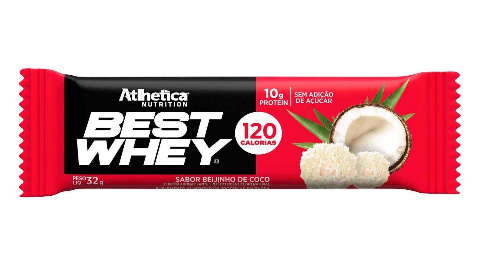 Best Whey Bar Coco 1 un de 32g Atlhetica
