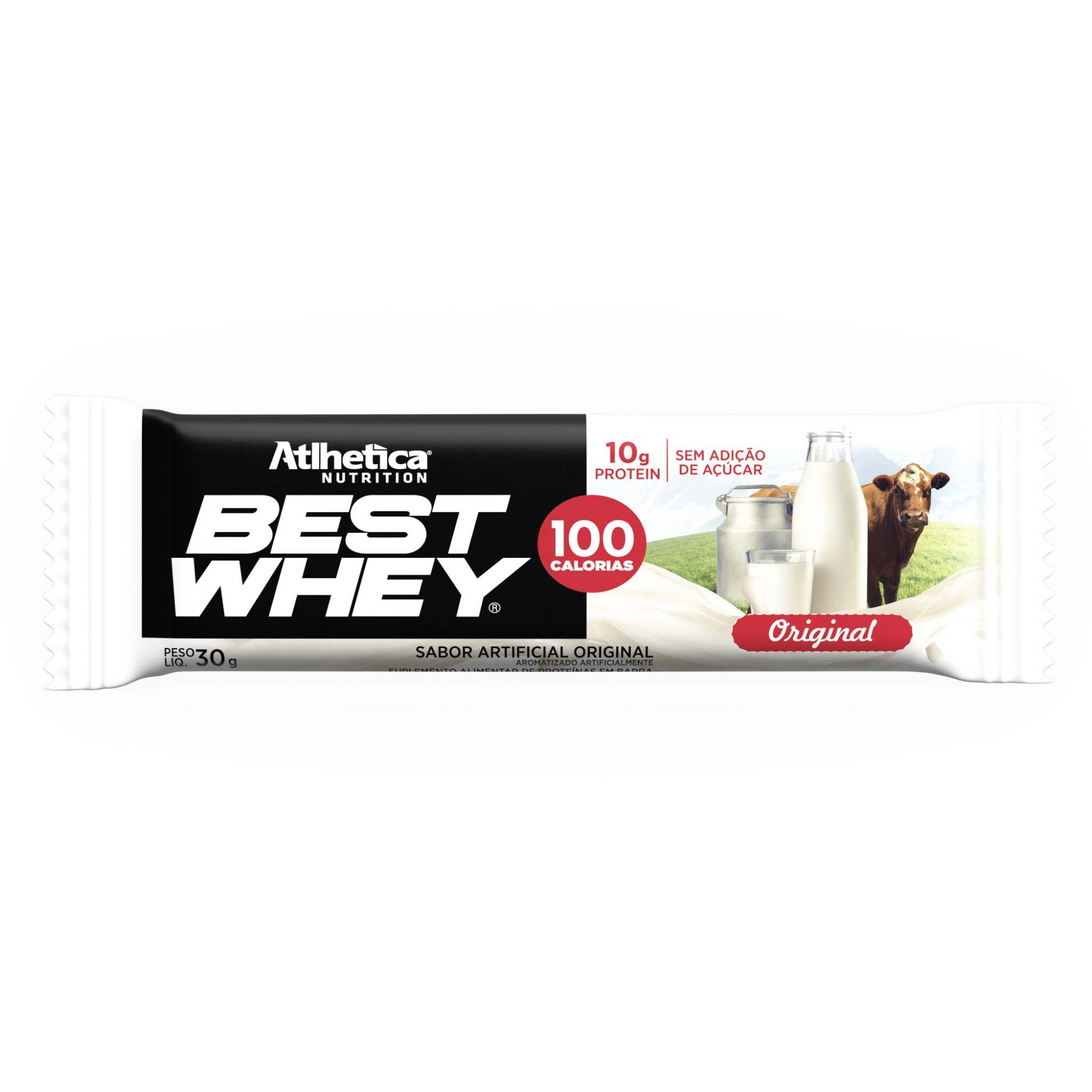 Best Whey Bar Original 1 Un de 30g Atlhetica