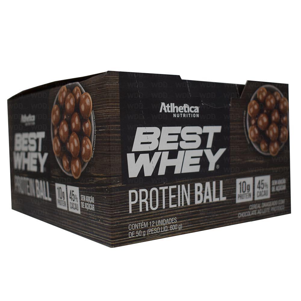 Best Whey Protein Ball Cx c/ 12 un de 12g Atlhetica