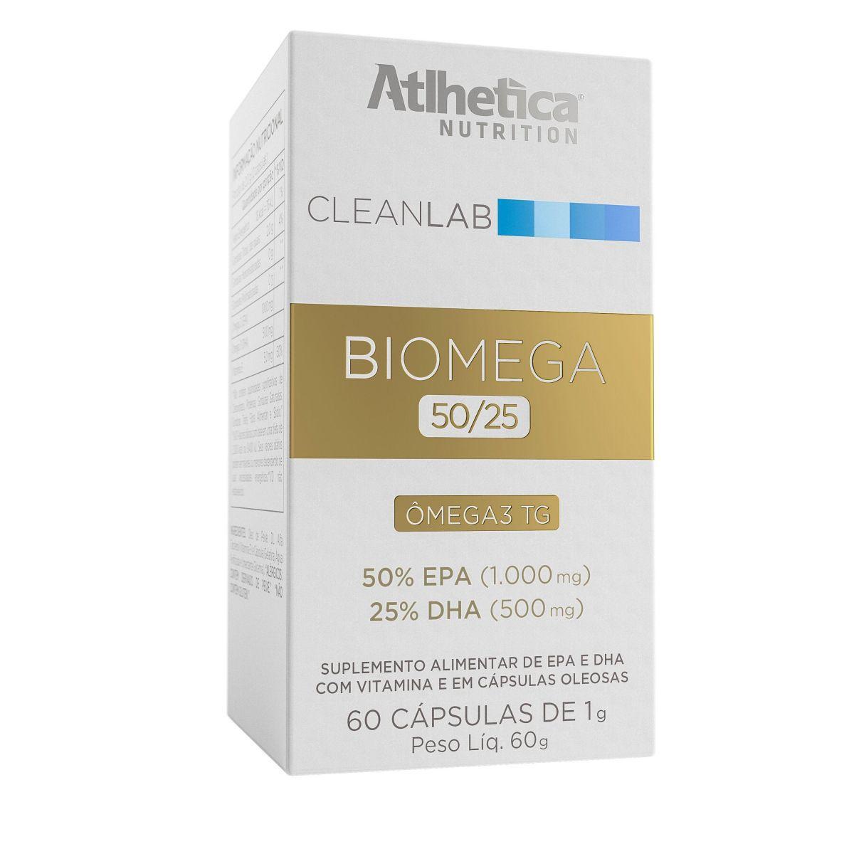 Biomega 50/25 60 caps Atlhetica Nutrition