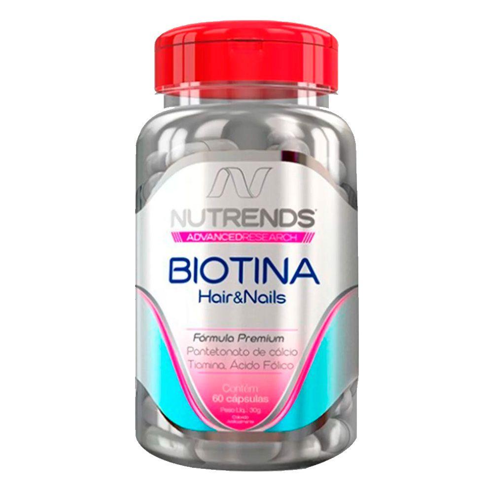 Biotina 450mg 60 caps Nutrends